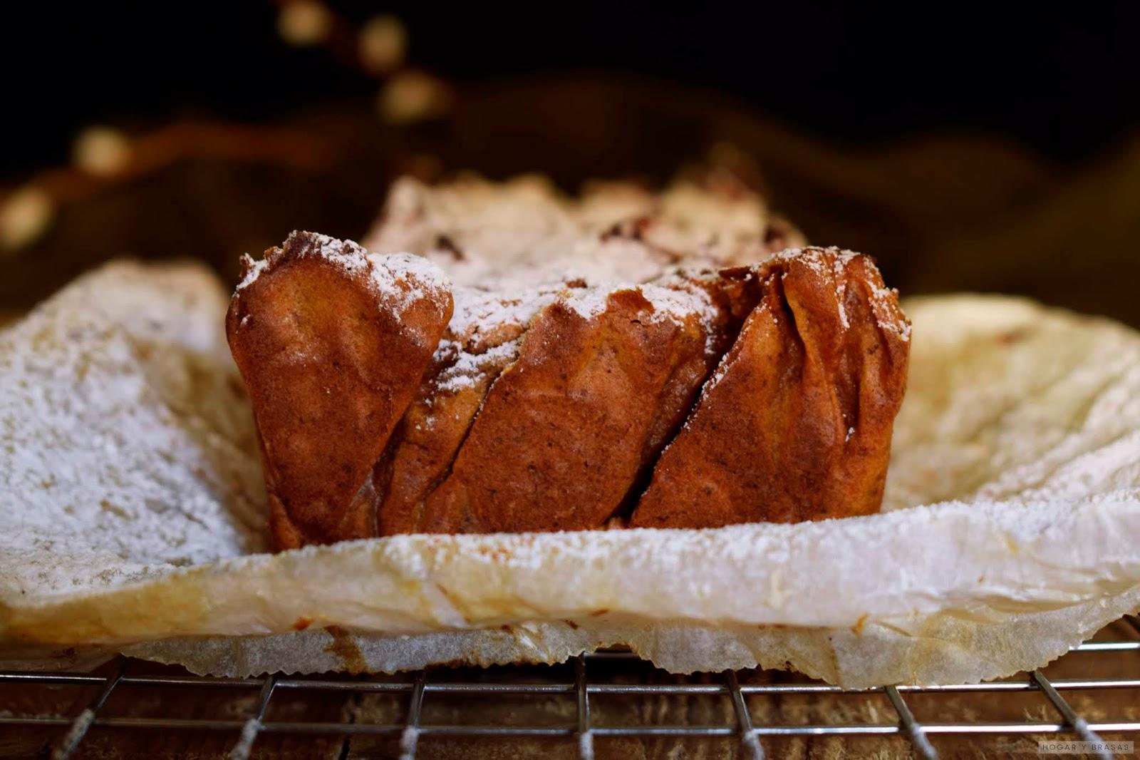 Pastel de Batata o Boniato con Nueces