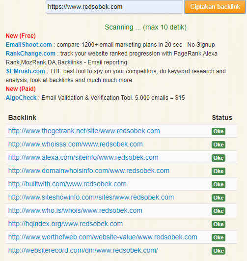Backlink Redsobek