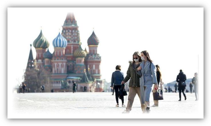 """روسيا تسجل 5672 إصابة جديدة بـ""""كورونا"""" وحصيلة الوفيات تتخطى الـ19 ألفا"""
