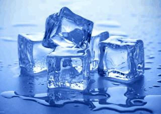 Es batu mencair menjadi air www.simplenews.me