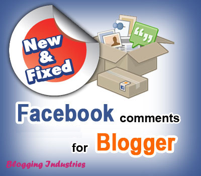 Blogging Industries: Customized Facebook Comment Box for Blogger