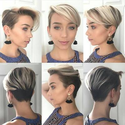 Ideas de peinados con CABELLO CORTO TRENDY que debes usar