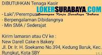 Karir Surabaya di New Darell Cake and Bakery Oktober 2020