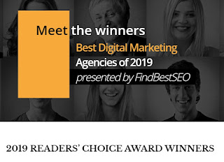 PresenceMe Digital Marketing - Award winner 2019 Best digital marketing company