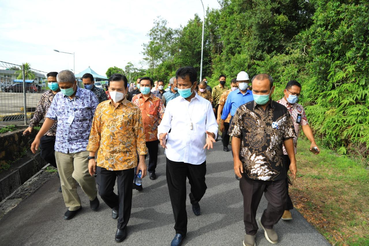 Dikunjungi Dewan Pengawas BP Batam Bersama Kepala BP Batam, Ini Penjelasan Dirut PT Moya Indonesia Untuk Tingkatkan Pelayanan