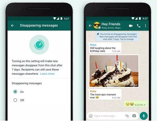 WhatsApp: Two New Features Rolling Out – Send and Receive Money, Disappearing Messages