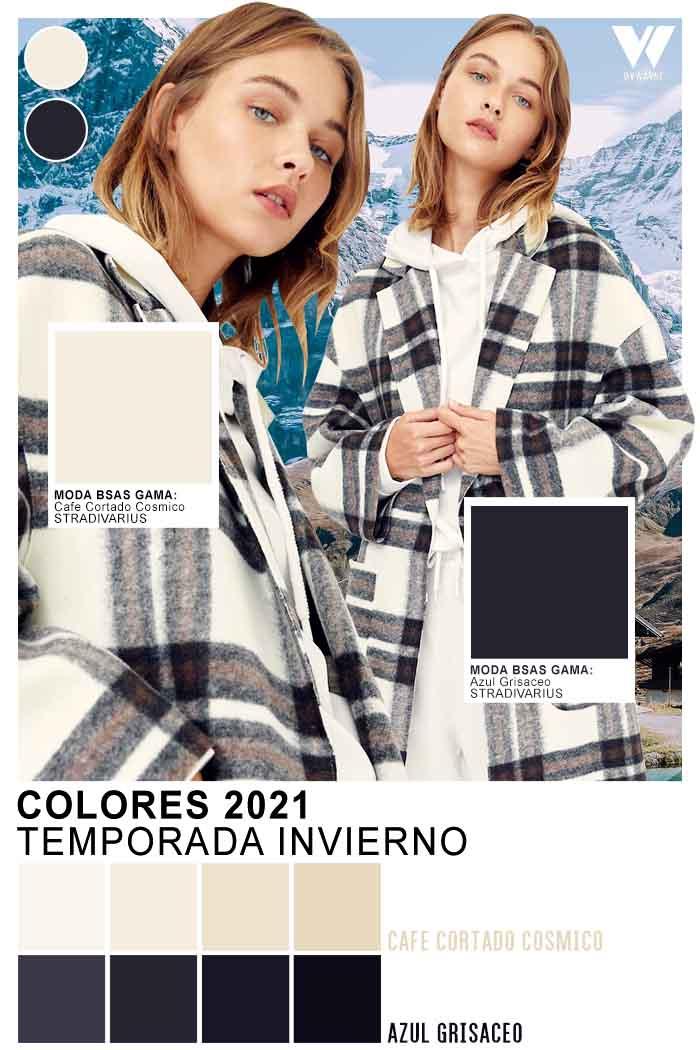 Camisas a cuadros colores blanco y negro colores de moda 2021