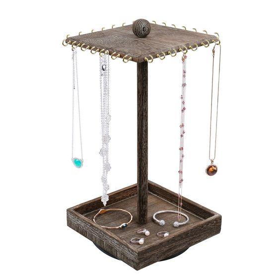 #WD2627-CF Rotating Jewelry Organizer