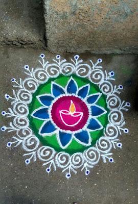 Top creative Deep Jyoti Rangolis