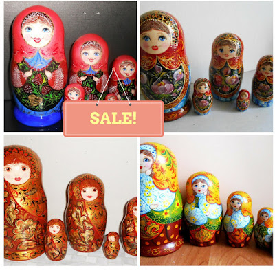 Sale matryoshka on http://www.etsy.com/shop/Artworkshop1
