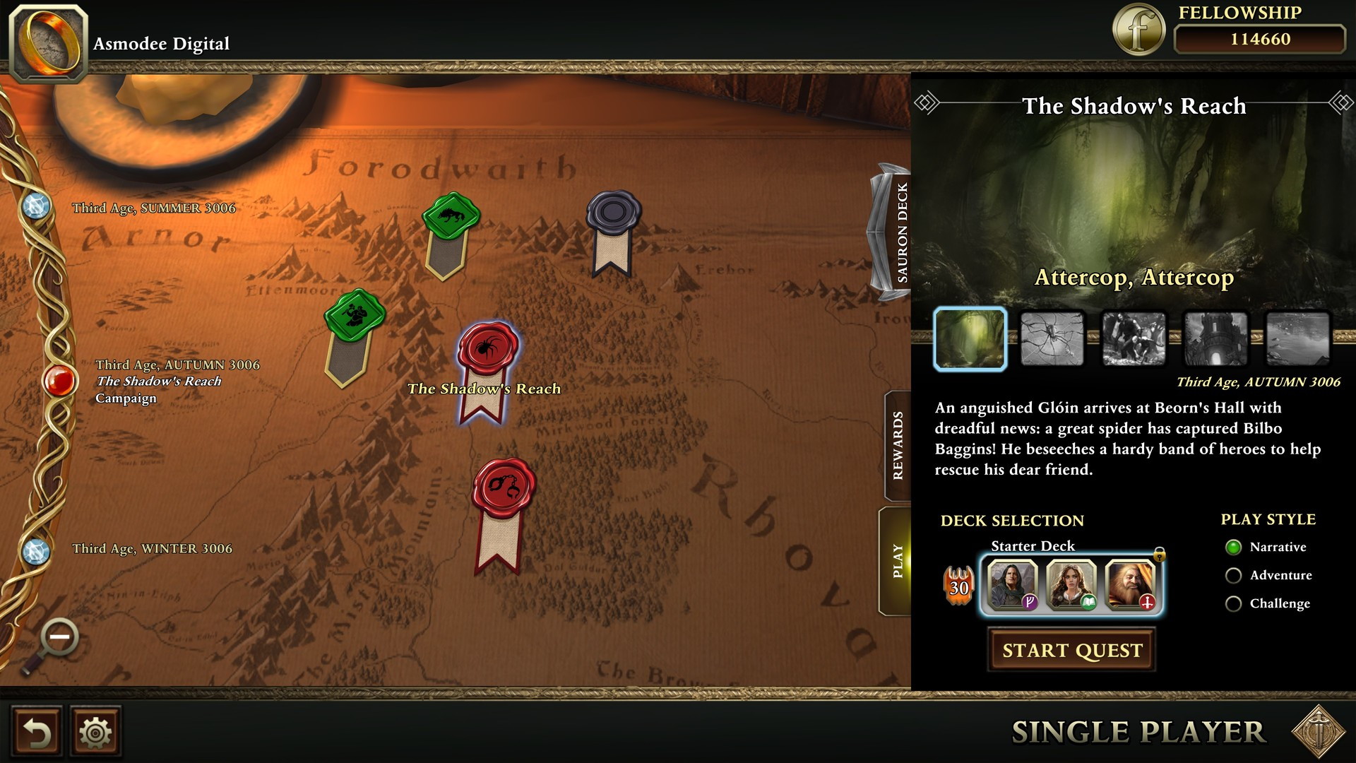 the-lord-of-the-rings-adventure-card-game-definitive-edition-pc-screenshot-01