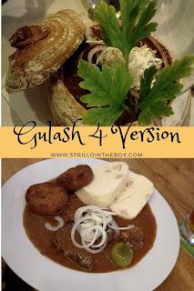 Goulash quattro versioni