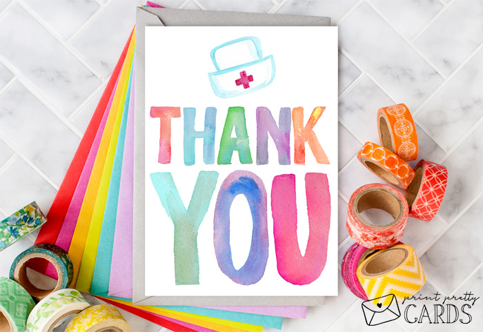 Thank You Cards for Nurses