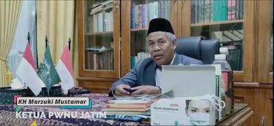 Ketua PWNU Jatim Dukung Polda Jatim Melaksanakan Vaksinasi Covid-19 Bagi Masyarakat