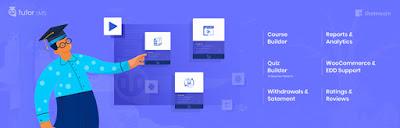 Tutor lms elearning online course wordpress plugin 2021