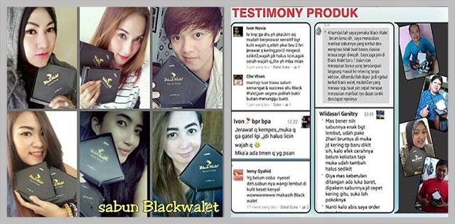 Testimoni Sabun Blackwalet