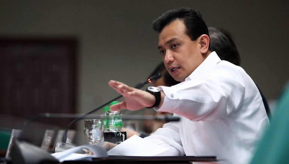 "Trillanes hopes for a ""miracle"", calls his enemy a ""devil"""