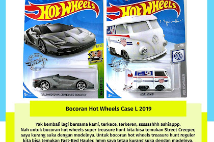 Bocoran Hot Wheels Case L 2019
