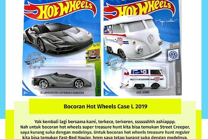 Bocoran Hot Wheels Case L 2019