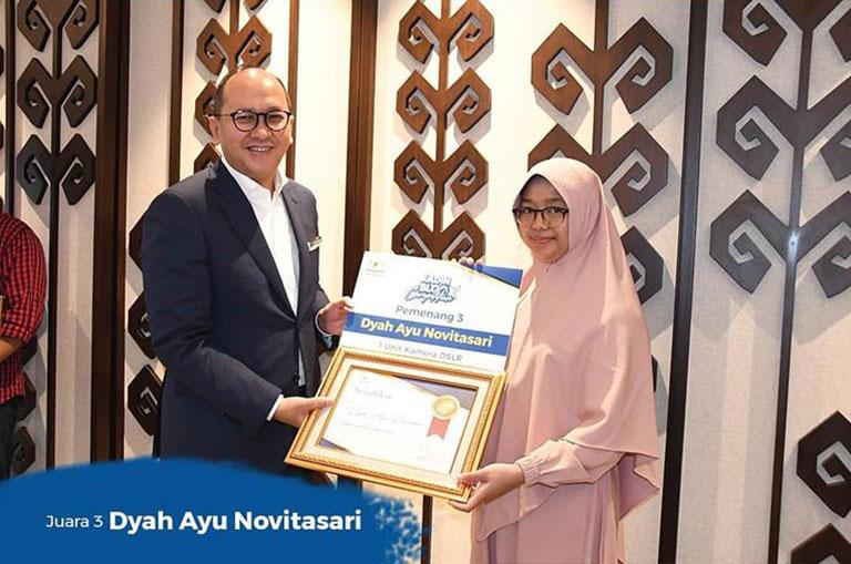 Dyah Ayu Novitasari - Juara 3