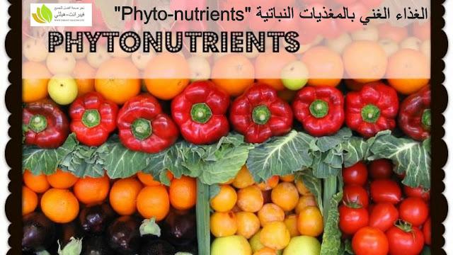 الغذاء الغني بالمغذيات النباتية Phyto-Nutrients