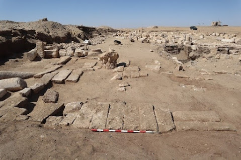 New findings in Oxyrhynchus archaeological site