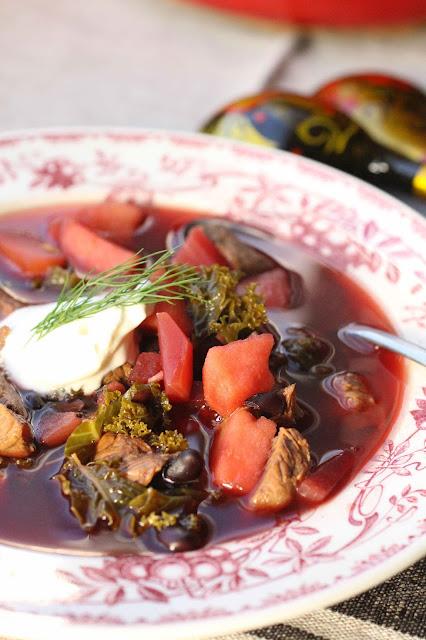 soupe betterave pommes chou