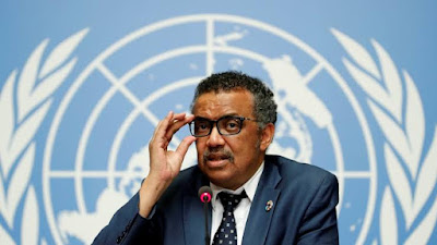 WHO Director Dr. Tedros