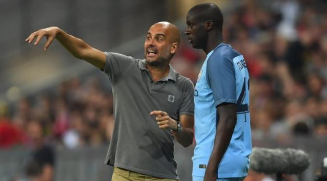 Pep Guardiola is refusing to budge in his dispute with Yaya Toure's agent - despite wanting to recall the midfielder.