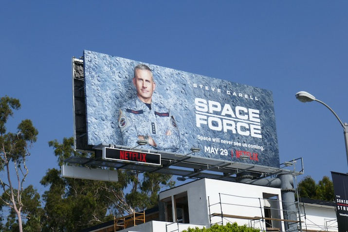 Space Force season 1 billboard