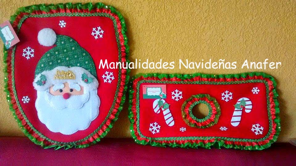 De Baño Navideno Manualidades:Manualidades Navideñas Anafer: Juegos ...