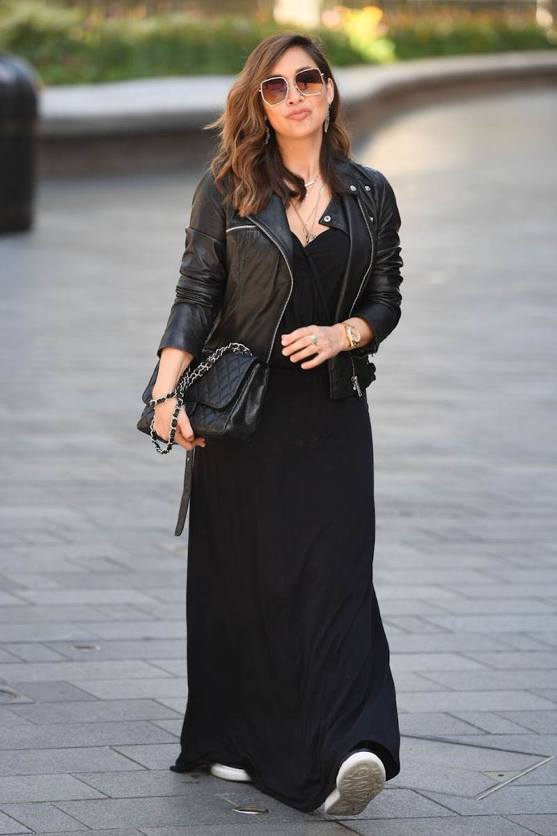 Myleene Klass Spotted  at Smooth Radio in London 6 May -2020