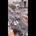 Vecinos en la Avenida Las Américas bloquearon el paso de una caravana del MAS