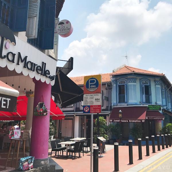 Icip - Icip di La Marelle Cafe Singapore