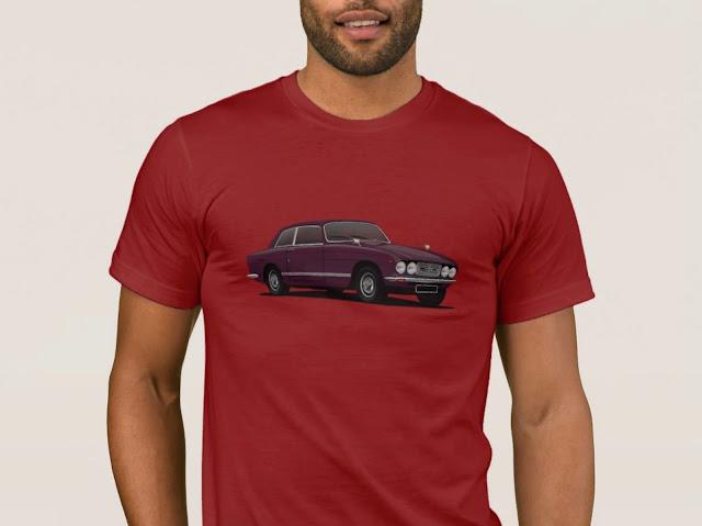 Bristol 411 s3 - classic car  t-shirts