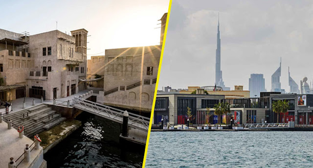 Al Seef Dubai where old and New Meets together
