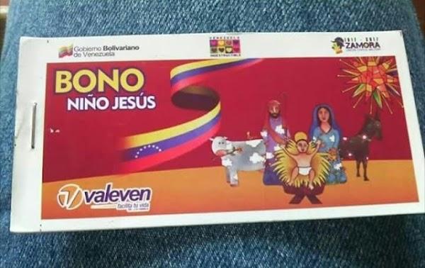 Forma de entrega del Bono Niño Jesús Diciembre 2018