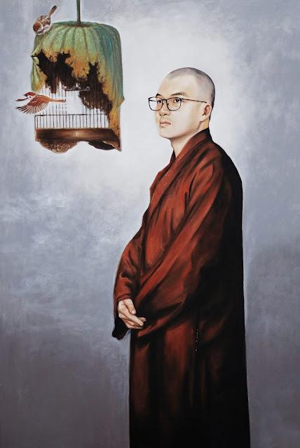 tranh chân dung tu sĩ