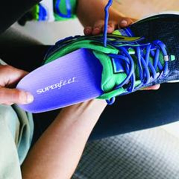 Superfeet Women's Blueberry Insoles for $16.99
