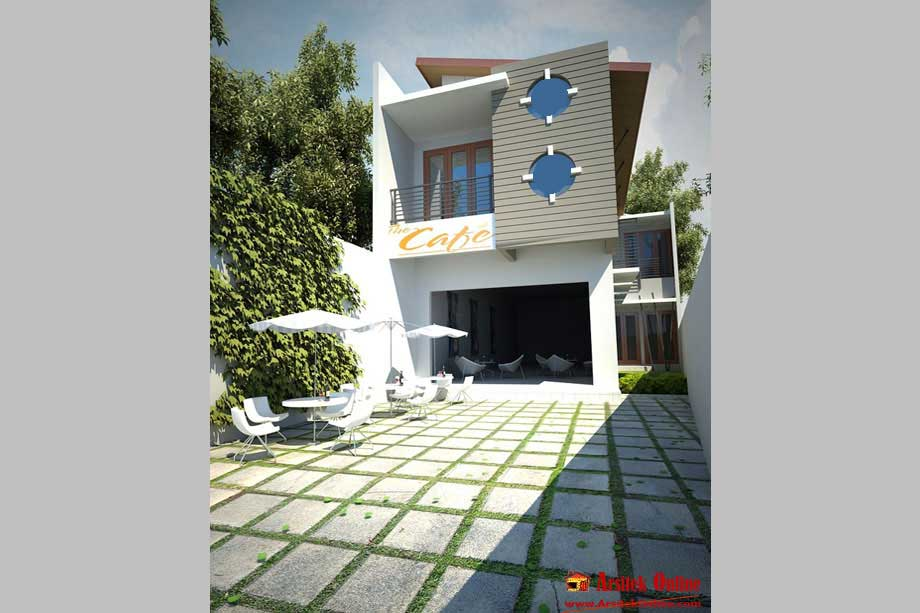 Gambar Rumah PostModern  Rumah Minimalis