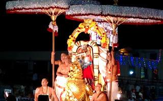 Brahmotsavam - Hamsa Vahanam