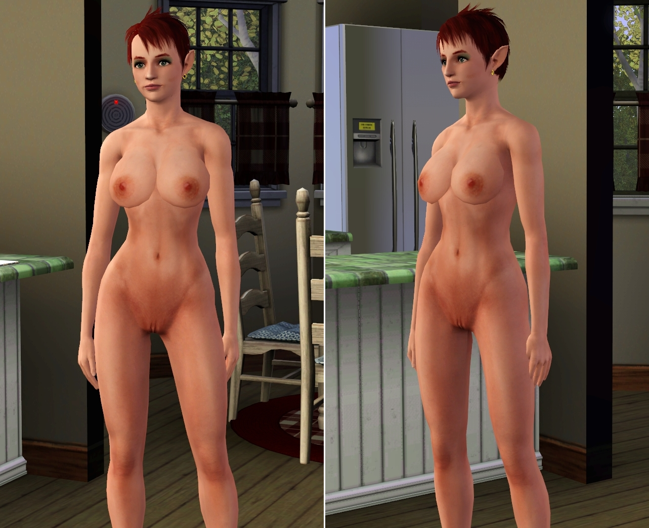 Naked in sims naked in skins, vagina defloration cum sex