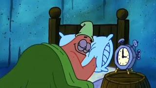 Polosan meme patrick bangun jam 3 pagi