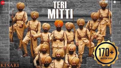 Hindi song Teri mitti Lyrics by B Praak