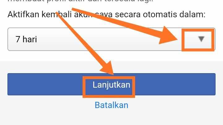 Tutup Akun FB apa bisa di buka lagi?