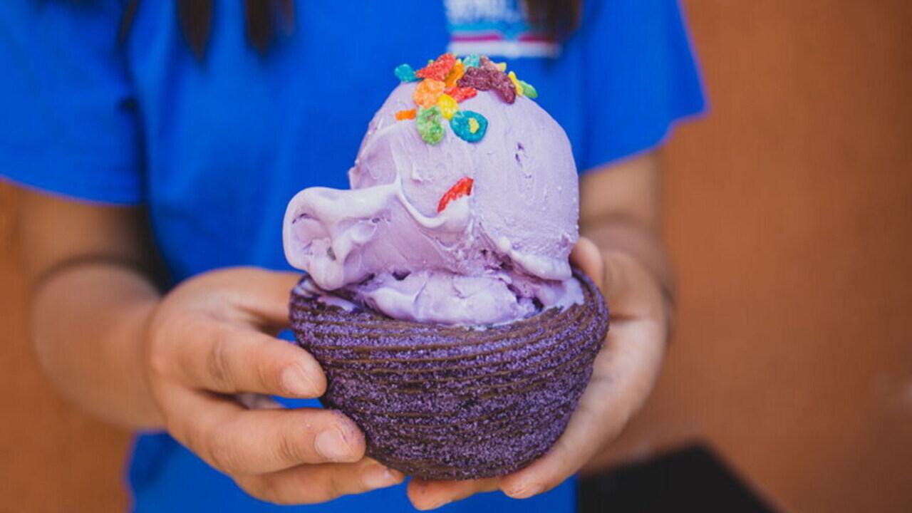 How to Make Purple Sweet Potato Ice Cream Menu