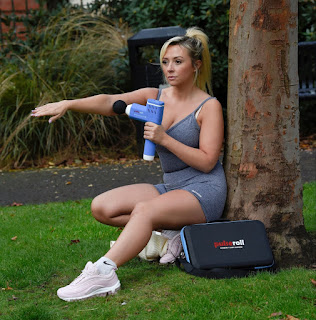 kimberly hart simpson working out at a park in manchester 10 21 2020 19