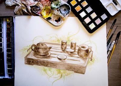 Service à thé © Cherche-Rêves
