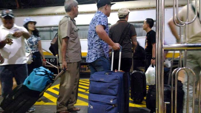 bagasi kereta api