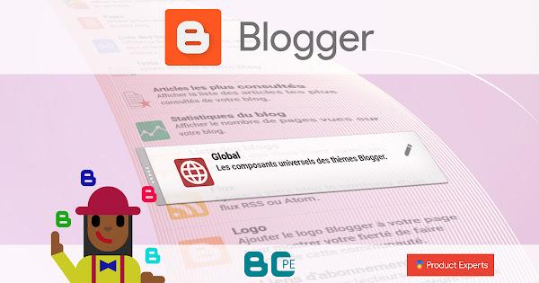Blogger - Fiche technique des éléments XML universels des thèmes Blogger